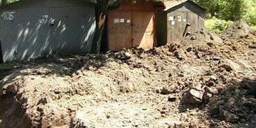 У Коломиї земельний конфлікт: мешканці вулиці Костомарова можуть позбутися гаражів. ВІДЕО