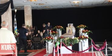Почали прощатись із Михайлом Вишиванюком. ФОТО