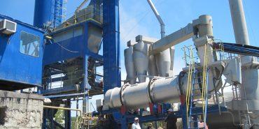 Новий асфальтно-бетонний завод на Коломийщині може виготовляти до 500 тонн асфальту за добу