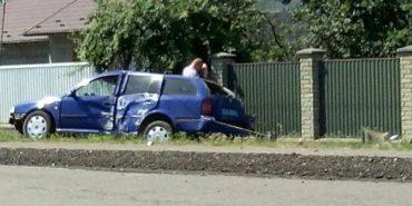 У ДТП на службовій автівці потрапив заступник начальника Снятинської поліції. ФОТО