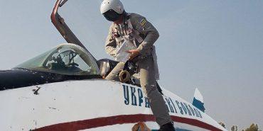 У небі над Коломиєю льотчики відпрацьовували вильоти по контрольних цілях. ФОТО