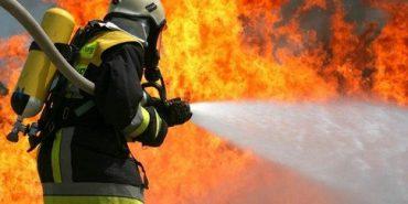 На Коломийщині згоріло 800 кг пшениці та комбайн