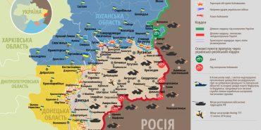 АТО: зведення штабу та карта боїв, 19 липня 2016 року