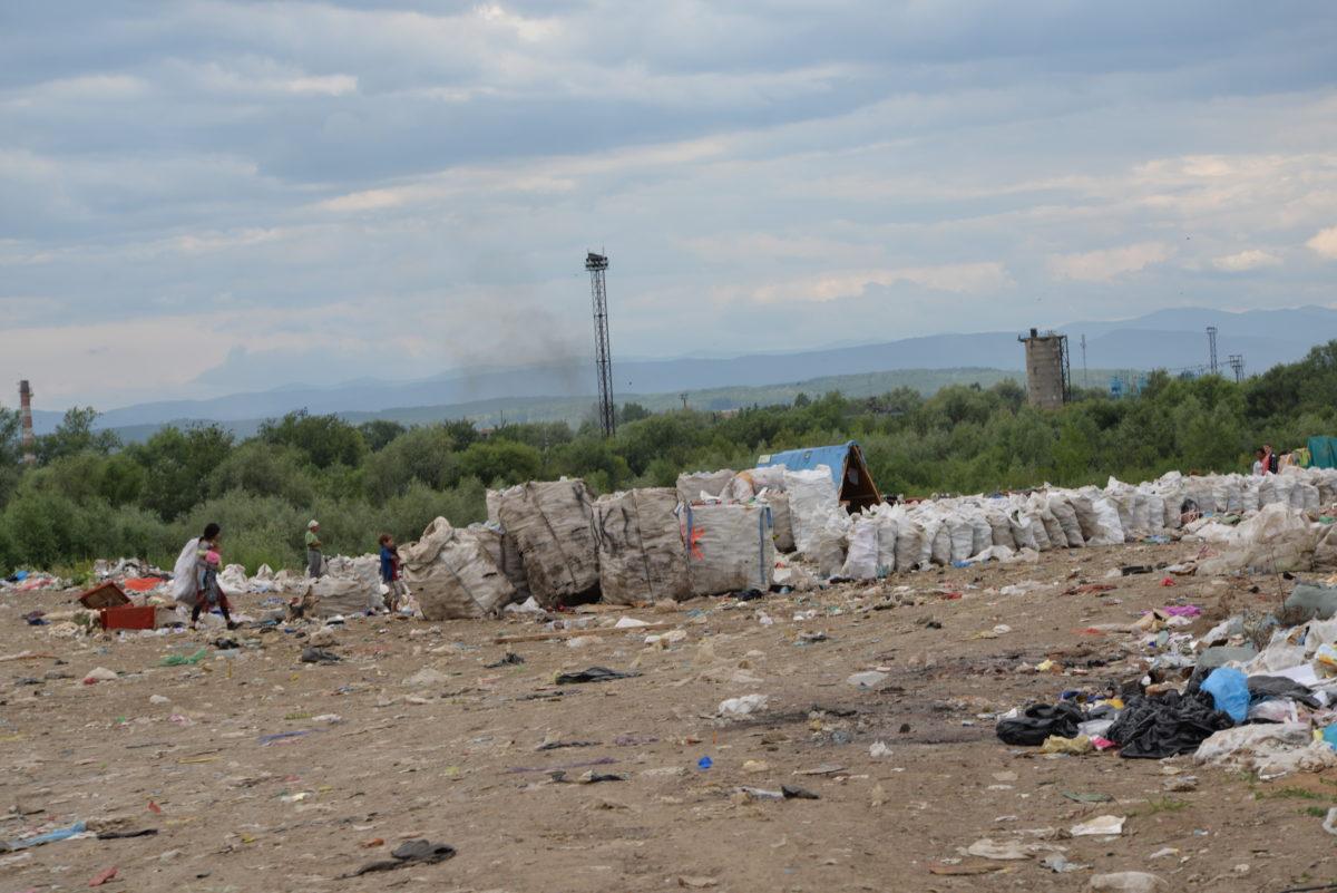 Відсортоване сміття.