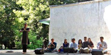 """""""Сахаджа йога"""" з коломиянами медитували у парку Трильовського. ФОТО"""