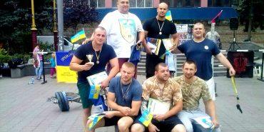 Заступник міського голови Коломиї Богдан Федорук переміг у богатирському турнірі серед воїнів АТО на Прикарпатті. ФОТО