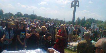 Коломийщина попрощалася з військовим Василем Мочернюком, який помер у зоні бойових дій. ФОТО