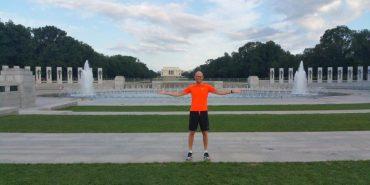 Ранкове тренування Арсенія Яценюка у Вашингтоні