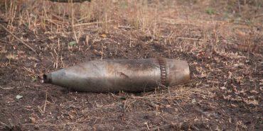 На Коломийщині виявлено артснаряди часів II Світової війни