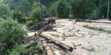 На Прикарпатті існує загроза сходження селевого потоку