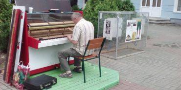 Вуличне піаніно знову гратиме у серці Коломиї