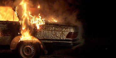 За добу на Прикарпатті горіли три автомобілі