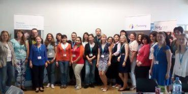 Ліцей у Коломиї бере участь у міжнародній навчальній програмі eTwinning. ВІДЕО
