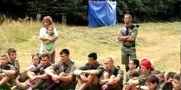 Коломийські пластуни організували на Косівщині наметовий табір. ВІДЕО
