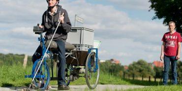 У Німеччині з'явився велосипед для сліпих