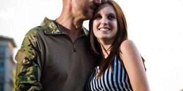 Дружина козака Гаврилюка з Коломиї опублікувала фото з відпочинку з чоловіком в Болгарії. ФОТО