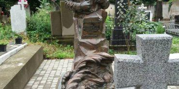 У Коломиї вандали пошкодили пам'ятник на місці поховання Андрія Федчука