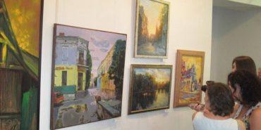 У Музеї писанки 14 художників виставили свої картини з архітектурою та пейзажами Коломиї. ФОТО