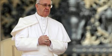 Папа Франциск помолився за мир в Україні у 25-у річницю її Незалежності