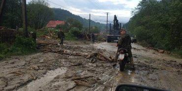 На Верховинщині зійшли три селеві потоки на село