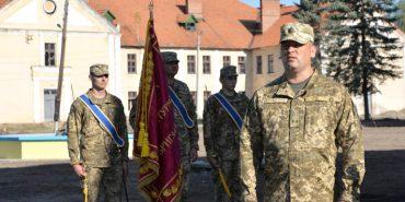 У Коломиї урочисто відкрили штаб 10 гірсько-штурмової бригади і освятили бойовий прапор. ФОТОРЕПОРТАЖ