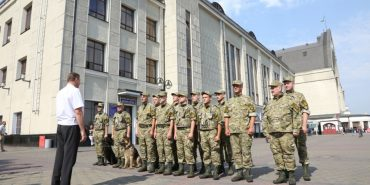 """На українських вокзалах запрацює """"Залізнична охоронна компанія"""""""