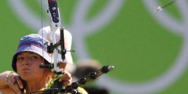 Лучниця Анастасія Павлова здобула перемогу в першому раунді на Іграх в Ріо-де-Жанейро