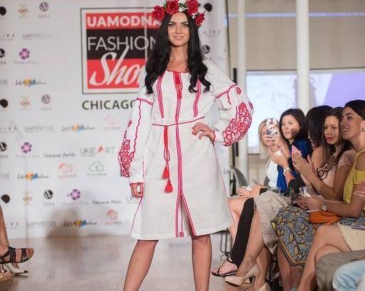 Дефіле українських дизайнерів — UaModna Fashion Show-2016 відбулося у  Чикаго. ФОТО - Дзеркало Коломиї a69b133eb30f2