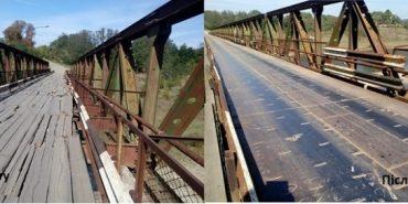 На Прикарпатті ремонтують аварійний міст через Дністер. ФОТО