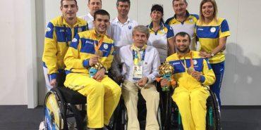 За п'ять днів Паралімпіади українці завоювали 61 медаль