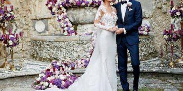 """Казкове весілля """"Віце-міс Всесвіт"""" Олесі Стефанко: красуня з Коломийщини вийшла заміж за іноземця. ФОТО"""