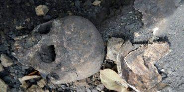 Під час будівництва у Франківську відкопали людський череп
