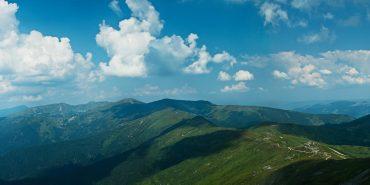 Чорногора з висоти пташиного польоту. ВІДЕО