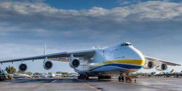 """Вражаюче відео про АН-225 """"Мрія"""" зняли американці"""