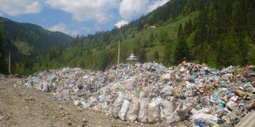 На Верховинщині назріває екологічна катастрофа через сміттєвий полігон