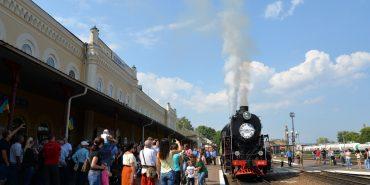 На залізничному вокзалі Коломиї відзначили 150-ліття від дня прибуття першого потяга Львів-Чернівці. ФОТОРЕПОРТАЖ