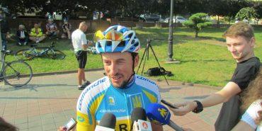 Коломиянин, який займається велоспортом 17 років, долучився до прикарпатського велопробігу