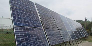 У Спасі відкрили сонячну міні-електростанцію