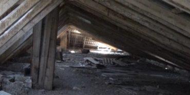У дитсадку на Коломийщині зруйнований дах, а грошей на ремонт нема. ВІДЕО