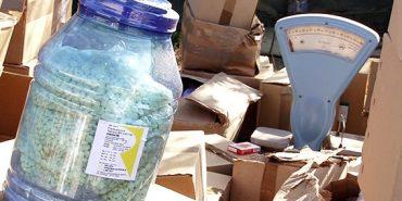 На Прикарпатті вилучили величезну партію фальсифікованих ліків відомих фірм. ФОТО
