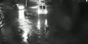 У Коломиї камера спостереження зафіксувала ДТП, четверо травмованих. ВІДЕО