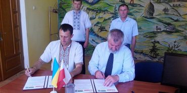 Печеніжинська ОТГ підписала угоду про співробітництво з польською гміною Барцяни