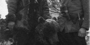 Унікальна історія про ведмедя у лавах УПА. ФОТО