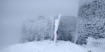 На горі Піп Іван випало 15 сантиметрів снігу. ФОТО