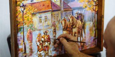 У Коломиї відзначили День художника. ФОТО