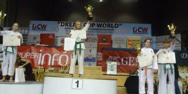 Прикарпатська спортсменка здобула третє місце на чемпіонаті світу з карате