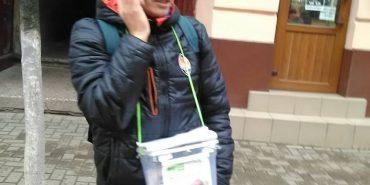 У Коломиї спіймали афериста, родом з Донбасу, який збирав гроші нібито на дитину. ФОТО