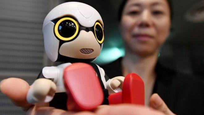 Для одиноких людей уЯпонії створили дитину-робота
