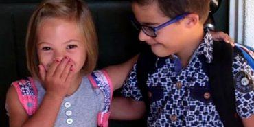 Українська дівчинка з синдромом Дауна, яку вдочерила американська сім'я, підкорила інтернет. ВІДЕО