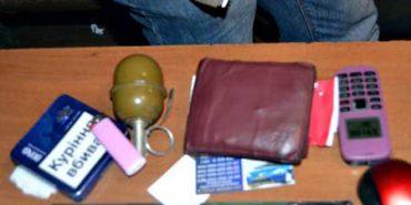 На блокпосту затримали прикарпатця з гранатою і наркотиками